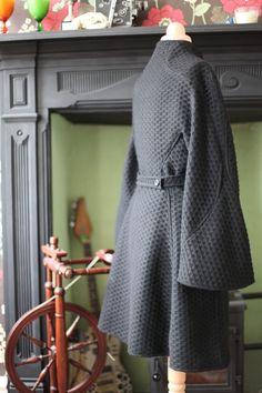 Laura's v1419 coat. #v1419sewalong #voguepatterns