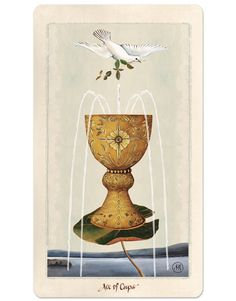 Ace of Cups / Pagan Otherworlds Tarot