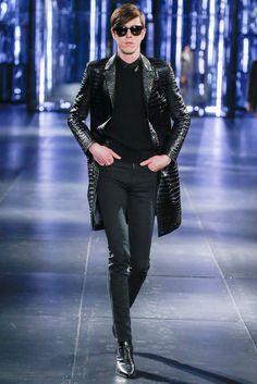 Saint Laurent - Fall 2015 Menswear - Look 24 of 63