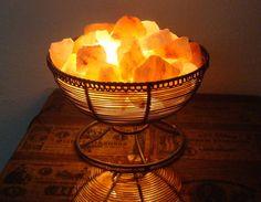 Himalayan Salt Lamp - Goblet of Fire