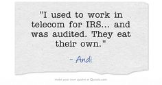 IRS quote