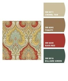 Paint colors from Chip It! by Sherwin-Williams by proteamundi