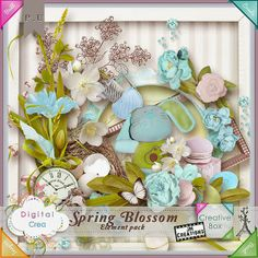 JM Creations: Spring Blossom + Freebies + Chance to win it!!!
