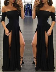 Less slits or at least not as high. #longpromdresses