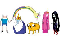 Top 10 Favorite Animated TV Shows and Characters ADVENTURE TIME