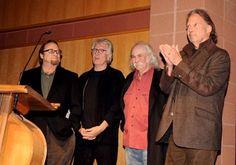 David Crosby, Graham Nash, Stephen Stills and Neil Young at event of CSNY/Déjà Vu