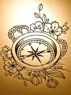 Google Image Result for http://freethemom.files.wordpress.com/2012/04/img_6994.jpg    Cool compass tat idea
