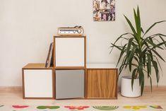 Dulap modular Pixel Light Grey, L40xl40xh40 cm #homedecor #interiordesign #inspiration #livingroomdecor #cube #decoration Living Room Bedroom, Living Room Furniture, Modern Furniture, Living Room Decor, Cosy Sofa, Pixel 4, Sit Back And Relax, Simple Pleasures, White Cabinets