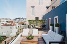 Architectural visualization and interior design apartment in Lisbon