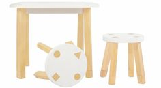 This play table and chairs by Babyletto (get these at @yliving!) are perfect in a modern playroom!  #PNpartner