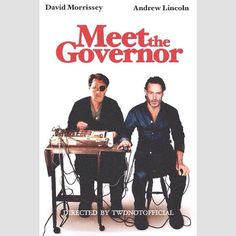 David Morrissey and Andrew Lincoln in Meet The Governor | twdnotofficial (IG)  Tags: #twd #thewalkingdead #walkingdead #twdparodyposters #thegovernor #philipblake #rickgrimes #andrewlincoln #davidmorrissey