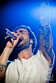 Adam Levine // MAROON 5. The tattoos