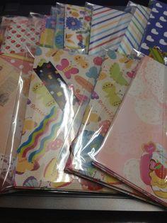 折り紙でミニ封筒の作り方|折り紙|紙小物・ラッピング|アトリエ