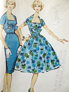 Patron de Vintage McCall 4885 patron de robe des par sewbettyanddot