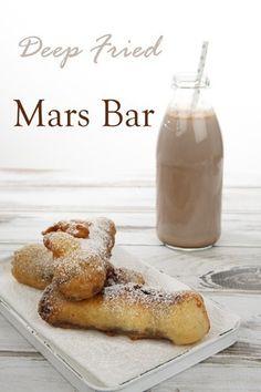 Deep Fried Mars Bar - Pin Me