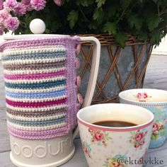 Crochet French Press cosy