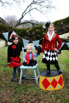 Props/Photo Ideas - Party Perfection: Circus Party from Winding Road – Modern Kiddo