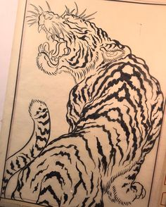 #DrawAtLeastAnHourEveryDay ...For appointments I can be reached at ToKnowClark@aol.com or @wildhare1 . Thank you for looking. #EdoArt #JapaneseTattoo #Tiger #Tora #RealTattoos #JapaneseTattooLasVegas #JapaneseTattoo #ClassicTattoo #japanesetraditionaltattoo #Wabori #Horimono #Irezumi #Tattoo #AsianTattooLasVegas #LasVegasTattooArtist #OldSchoolTattoo #ClarkNorthTattoo #FusionInk