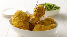"From Betty's Soul Food Collection...    Mmm! No-muss, no-fuss, delicious chicken that's ""fried"" in your oven."