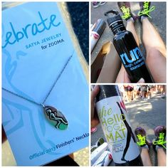 yogi swag | ... swag! Finishers all received a cute necklace, a water bottle, and a