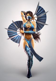 Kitana Costume for Competition!!! I think so!!