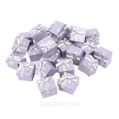 Бумажная коробочка BOXSHOP #box1-1 Серый