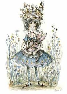 Paulina Cassidy. Alice in Wonderland. White Rabbit.