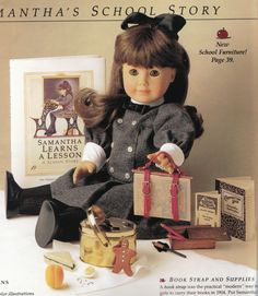 Retired American Girl Samantha - no longer available for purchase School
