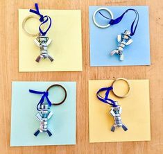 Hello dear ones ich After I have seen the cute little screw men here several times now, I also wante Fathers Day Art, Fathers Day Crafts, Crafts For Teens, Diy For Kids, Diy And Crafts, Valentines Day Party, Valentine Day Crafts, Creation Deco, Presents For Kids