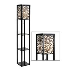 1000 images about shop for the home on pinterest for Kirklands floor lamp with shelves