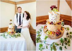 Sandhole Oak Barn Wedding by Neil Redfern Photography  -   cheese wheel wedding cake, my kind of cake :) acm