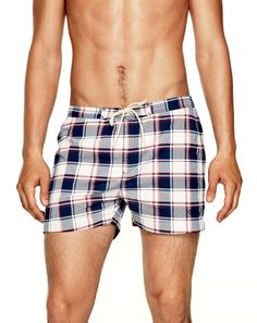 Gant Rugger Between the slightly wider legs and the U-S-A! colors, you're looking at an all-American swimsuit. Korean Fashion Men, Mens Fashion, Mens Sleepwear, Country Attire, Slick Hairstyles, Men's Swimsuits, Cocktail Attire, Mens Boardshorts, Queen