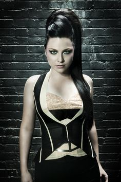 Amy Lee, the singer of Evanescence, has one of the most beautiful voices I've ever heard. Her lyrics are really deep and her talent is shocking. She's one of those few artists who write about real things.