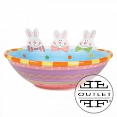 fitz hoppy days candy bowl