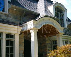Exterior Columns, exterior architectural,architectural columns,precast columns, cast stone