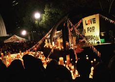 @hiiiiisammy の応援 に #Candle11 にきた #ハナレグミ #radwimps #Toshiro #モンパチ と豪華なうゲストの声と 冬の公園で揺らめくキャンドルにうっとり #tokyo #yoyogipark #yoyogikoen #event #japan #candle #キャンドル #park #concert #stage #ステージ #代々木公園