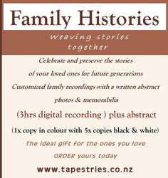 Family Histories - The ideal gift for the ones you love