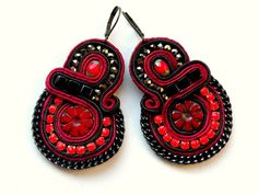 Hey, I found this really awesome Etsy listing at https://www.etsy.com/au/listing/189038741/moulin-rouge-earrings-soutache-jewelry