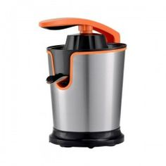 COMELEC Electric Juicer COMELEC Orange Inox If you are looking for household appliances at the best prices, don't miss the Electric Juicer COMELE. Taurus, Electric Juicer, Smoothie Makers, Citrus Juicer, Fruit Smoothies, Can Opener, Cool Things To Buy, Household, Home Appliances