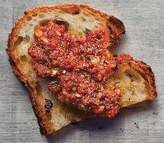 Pesto Rosso (Sun-Dried Tomato Pesto)  Recipe - Saveur.com
