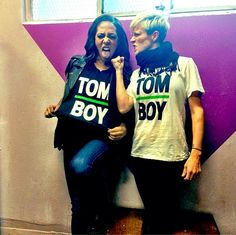 Sydney Leroux and Megan Rapinoe, Tomboys. (Instagram)