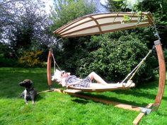 Beautiful oak hammock www.hertfordshirehammocks.com