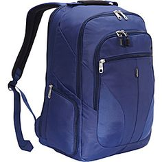 2.0 Macroloader Laptop Backpack - Indigo - via eBags.com! I so want this backpack for college.