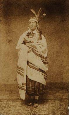 Iroquois woman - circa 1875