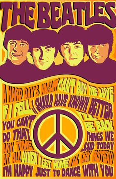The Beatles poster design