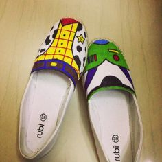 Hand-painted canvas shoes :)