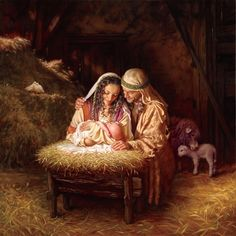 Light of Love by Mark Missman Religion Christian Jesus Nativity Christmas Print Poster Picture Peddler
