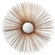 Safavieh  Sunburst Mirror ($88) ❤ liked on Polyvore featuring home, home decor, mirrors, burnt copper, safavieh, sunburst mirror, bronze sunburst mirror, sun shaped mirror and bronze home decor
