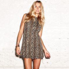 Mini Dress Leopard  by Pencey Standard