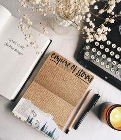 Art journal inspiration. Original pinner sez: pollyandbooks